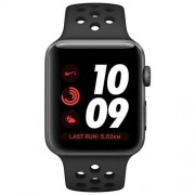 Apple Watch Series 3 Nike+ GPS (42mm) Aluminio en Gris Espacial con correa...