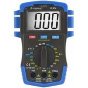 HOLDPEAK 37A Digitális multiméter VDC VAC ADC ellenállás hőmérséklet dióda szakadás.