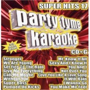 Video Delta Party Tyme Karaoke - Super Hits 17 - CD