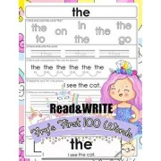 Read and Write Fry's First 100 Words: With 100 Sight Word Mini Books Write and Learn High Frequency Word Practice Pages That Are Key to Reading Succes, Paperback/Jenis Jean