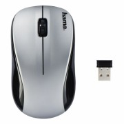 Egér Hama AM-8100 Wireless Optical Mouse Silver