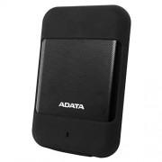 ADATA AHD700-1TU3-CBK Disco Duro Externo 1TB, Antishock, Color Negro