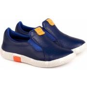 Pantofi Baieti Bibi Walk Baby New Albastri 24 EU