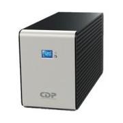 NO BREAK CDP INTELIGENTE 1200VA/720W, 10 CONTACTOS, PANTALLA LCD, BRAKER, PUERTO USB, RESPALDO DE BA