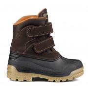 Tecnica Toronto II Velcro - doposci - bambino - Dark Brown/Orange