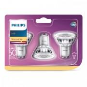 Philips Led lamp 4,6W - GU10 - PAR16 - Led set van 3 929001215286