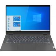 "Лаптоп Lenovo IdeaPad Flex 5 14IIL05 - 14"" FHD IPS Touch, Intel Core i5-1035G1, Graphite Grey"