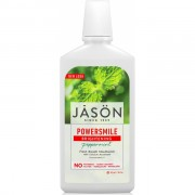 Apa de gura Jason Power Smile - albire si respiratie proaspata, 473 ml