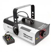 Beamz S1500LED máquina de niebla 1500W 9x3W RGB-LEDs DMX 2,5l tanque (160.455)