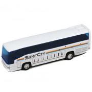 Autobus Welly 1:60 Mercedes Benz MB 0 303 RHD biely