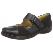Clarks Women's Un Swan Black Leather Pumps - 5.5 UK/India (39 EU)