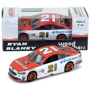 Lionel Racing Ryan Blaney 2017 Pocono First Cup Series Win Ford Motorcraft Raced Version NASCAR Diecast 1:64 Scale