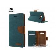 Husă Mercurycase Canvas Diary pentru Samsung Galaxy J5 (SM-J500), verde