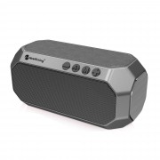 NEWRIXING NR-4000 Bluetooth Heavy Subwoofer Speaker Support FM/Aux/TF Card - Grey