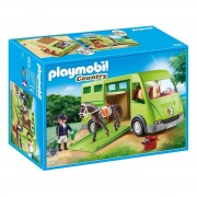 Playmobil Transporte de cavalos 6928Multicolor- TAMANHO ÚNICO
