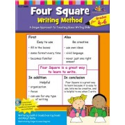 Four Square: Writing Method Grades 4-6 W/Enhanced CD: A Unique Approach to Teaching Basic Writing Skills