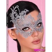 Maschera in tessuto argento Model 1711