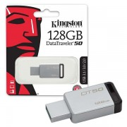 Kingston 128GB DT USB 3.0 DT50/128GB metal - crni