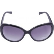 Miami Blues Oval Sunglasses(Blue)