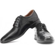 Clarks Goya Row Genuine Leather Lace Up Shoes For Men(Black)