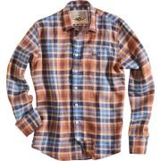 Rokker Austin Skjorta Vit Blå 2XL