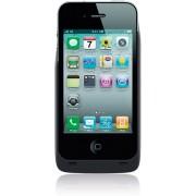 Zens Qi-Wireless Charging hoesje - backcover voor de Apple iPhone 4/4s - Zwart