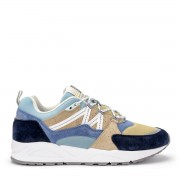 Karhu Sneaker Karhu Fusion 2.0 in suede e nylon blu e beige
