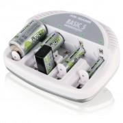 Ansmann Batterijlader Basic 5 plus wit 5207303