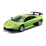 Maisto Power Kruzers Lamborghini Murcielago LP 670-4 Sv 4.5 Inch Pull Back Diecast Model Car