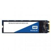 SSD 500GB Western Digital Blue, SATA 6Gb/s, M.2 2280, скорост на четене 560 MB/s, скорост на запис 530MB/s