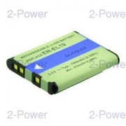 2-Power Digitalkamera Batteri Nikon 3.7v 600mAh (EN-EL19)
