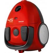 Aspirator cu sac Sencor SVC 45RD - EUE3, 1.5L, 850W (Rosu)
