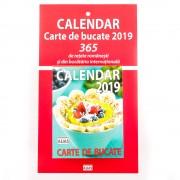 Calendar carte de bucate 2019, format mic, de perete, 365 file