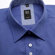Bărbați cămașă slim fit Willsoor Londra 2211