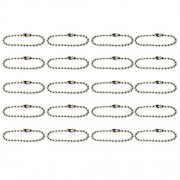 Imported 10cm Ball Chain Scrapbooking Key Chains DIY Jewelry Making 20pcs