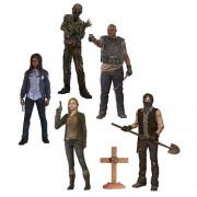 The Walking Dead Tv Series 9 Beth Greene, Grave Digger Daryl Dixon, T Dog, Water Walker And Constable Michonne Action Figures Set Of 5