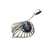 Wisiorek srebro kryształy Swarovski W 1644 : Kolor - Montana