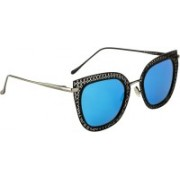 RAFA Cat-eye Sunglasses(Blue)