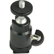 American Sia Adjustable Swivel Hot Shoe Mount 1/4-Inch Shoe adapter adjustable angle for Flash LED light Camera Monitor FT9710