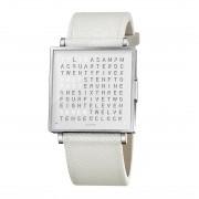 Biegert & Funk Qlocktwo Watch Pure White W39 - Engels