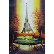 1000 pieces jigsaw paper puzzle Landscape Eiffel Tower jigsaw adult children education puzzles