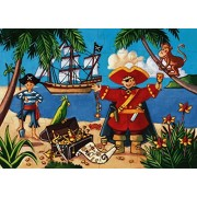 Djeco / Shaped Box Puzzle The Pirate and The Treasure