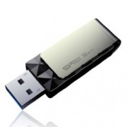 32GB USB Flash Drive, Silicon Power Blaze B30, USB 3.0, черна