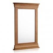 Oak Furnitureland Rustic Solid Oak Mirrors - Wall Mirror Frame - French Farmhouse Range - Oak Furnitureland