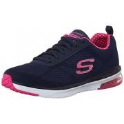 Skechers Women's Skech-Air Infinity Navy and Pink Sneakers - 5 UK/India (38 EU) (8 US)