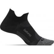 Feetures Elite Light Cushion No Show Tab - Zwart - Hardloopsokken - Sportsokken - Medium - 38/42