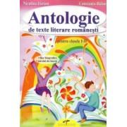 Antologie de texte literare romanesti. Clasele I-II
