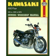Haynes Kawasaki 650 Four (76-78) 0373