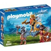 Regele pitic cu gardieni Playmobil