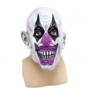 Merkloos Horror clown masker voor volwassenen